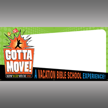 Picture of GoFish Gotta Move Banner 8x4